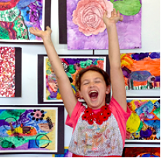 Create Clay, Comic Books, Pottery, Paint, Mache & More Art Camps