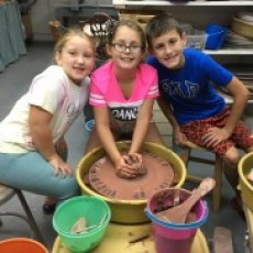 Pottery & Art Camp (Ages 6+)